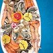 Plats de fruits de mer, selon votre envie