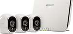 Sistema di sicurezza Arlo senza fili con 3 telecamere HD (VMS3330)