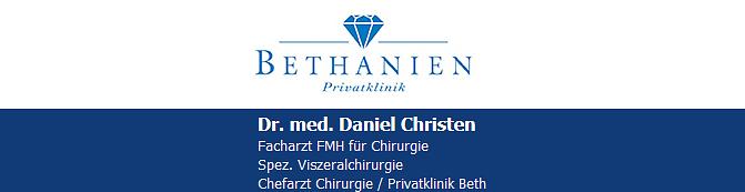 Dr. med. Christen Daniel