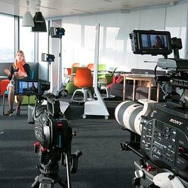 En tournage à Paris pour l'Ecole Hôtelière de Lausanne