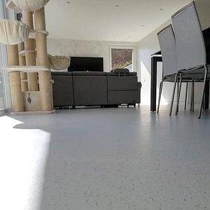 Sols sans joint dans villa