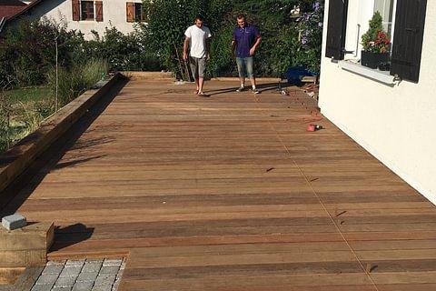 Rénover/créer une terrasse