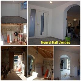 Création d'un nouvel hall d'entrée