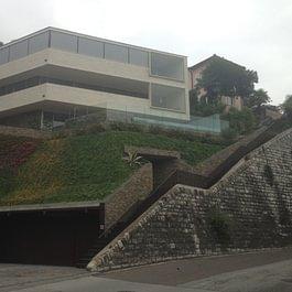 Giardino privato a Castagnola