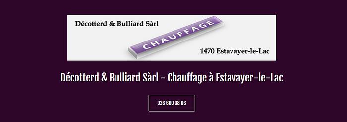 Décotterd & Bulliard Sàrl