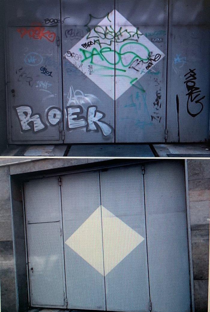 nettoyage tags et graffitis tous supports