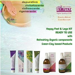 Benessere - Freschezza e Leggerezza per gambe e piedi stanchi. Prodotti rinfrescanti e lenitivi. Rigeneranti per dare rinnovato vigore all'organismo