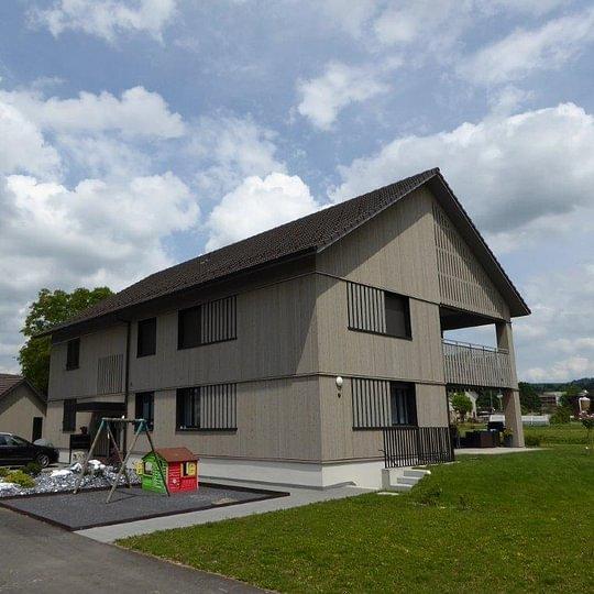Dachkonstruktion & Fassade, Feldhof Baar