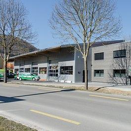 Gewerbebau in Schaffhausen
