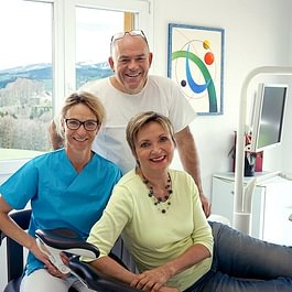Dr.Schellenbaum, DA Evelyne, HP Silvia Brants