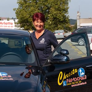 Fahrlehrerin Arlette Chresta