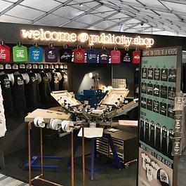 Publicity Shop au comptoir de la Veveyse