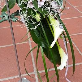 Bouquet sposa casante con calle