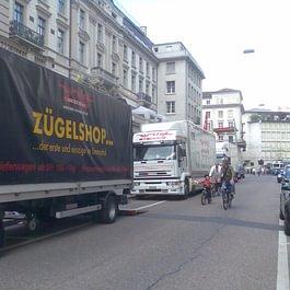 Firmenumzug am Paradeplatz Zürich