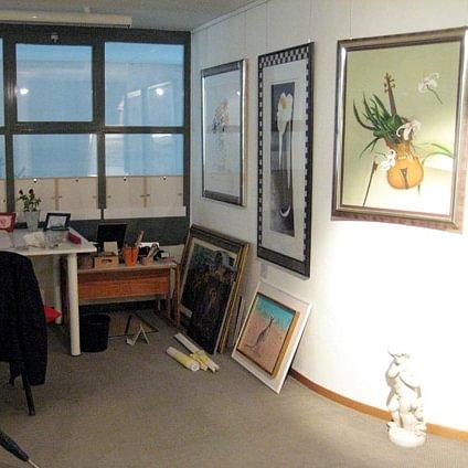 Rahmenatelier & Galerie im Bild