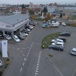 VW Nutzfahrzeuge und VW Personenwagen