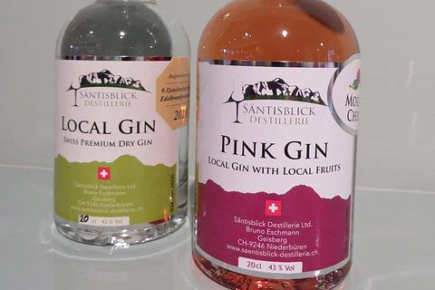 Aktuell: Diverse Gin aus der Region