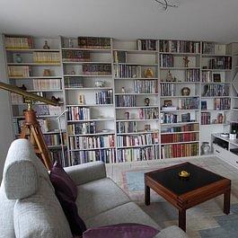 Bibliothèque - Ebénisterie Philippe Ducraux - St-Légier