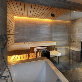 KÜNG combined sauna & steam bath