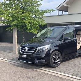 Mercedes-Benz V-Class Luxury Minivan