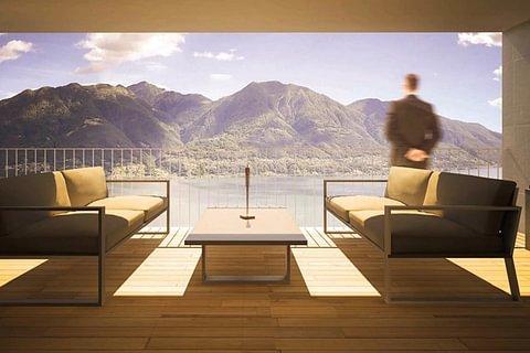 BRIONE S/MINUSIO - vendesi super attico con vista lago