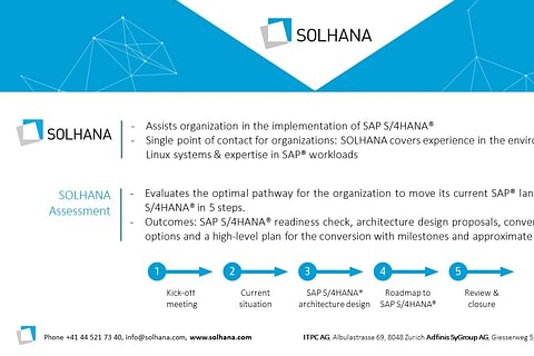 SOLHANA - Solutions for SAP HANA