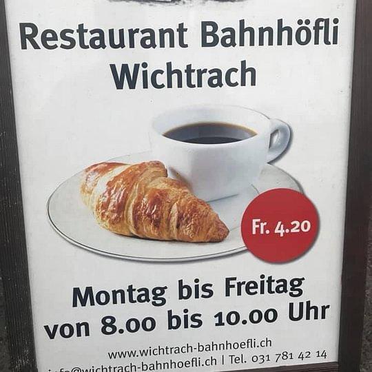 Restaurant Bahnhöfli Wichtrach