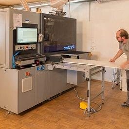 Möbelproduktion mit modernsten Anlagen