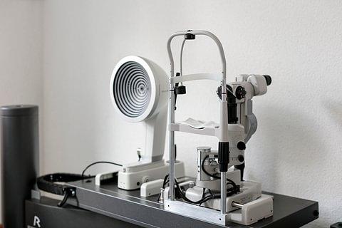 Sehtest, Optometrie