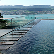 Dudler AG Schwimmbadtechnik, Kreuzlingen - Betonpool eingefärbt
