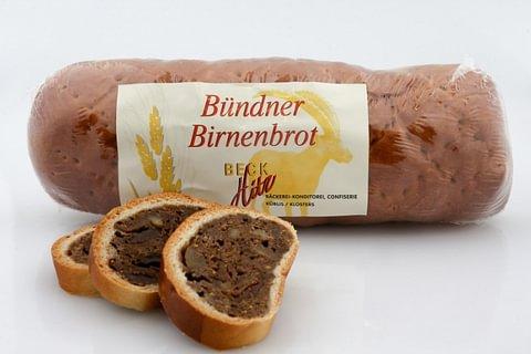 Bündner Birnbrot, gross