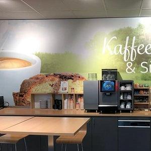 Kaffeecke im TopShop