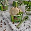 Glace vegan und selbergemacht mit green Packaging
