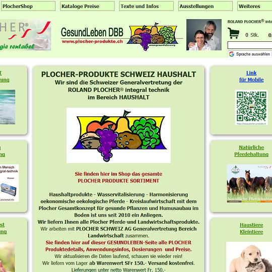 Shop und Infos zu PLOCHER