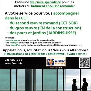 Informations destinées aux entreprises de la construction
