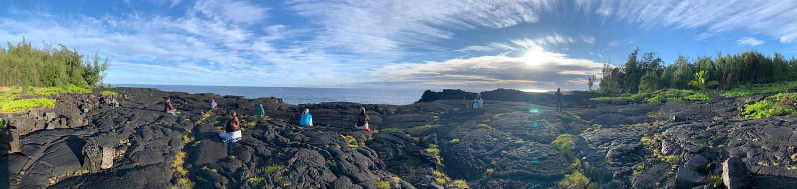 AlohaSpirit in Hawaii, Puna, Lomilomi Retreat mit Kumu Dane Kaohelani Silva