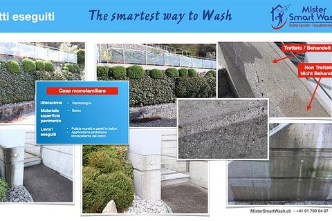 Pulizia PROFESSIONALE del beton