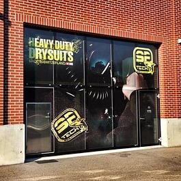 Publicity Shop - Devanture vitrine SF Tech Puidoux