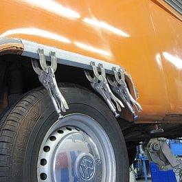 VW Bus Rostentfernung
