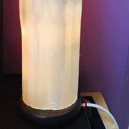 Lampada di selenite