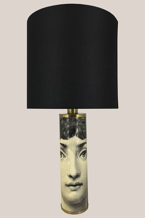 """Face"" Table Lamp by Piero Fornasetti - Italy, 1960s"