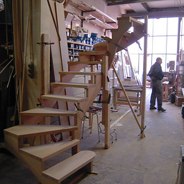 construction escalier