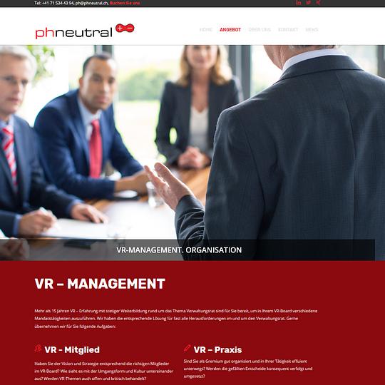 Verwaltungsrat, VR-Management, Strategieentwicklung
