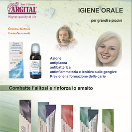 L'igiene orale 100% naturale senza conservanti a base di Argilla