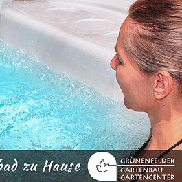 Südsee-Feeling im eigenen Garten mit einem Schwimmbad vom Grünenfelder