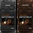 Kaffee, Kaffeebohnen, Kaffee kaufen, Eccellenza Kaffeehalle, Premium oder Gran Riserva, Espresso & Crema