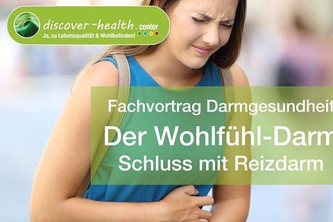 Vortrag Wohlfühl-Darm: Schluss mit Reizdarm am 9.9.2020
