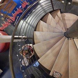 Création de marches d'escalier sur mesure