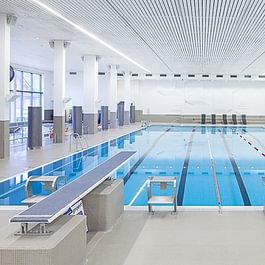 Hallenbad, 25m Schwimmbecken