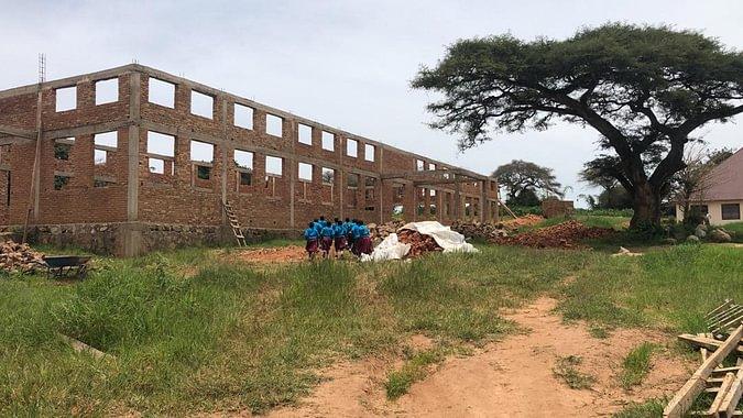 Tanzania - scuola - costruzione sala polivalente